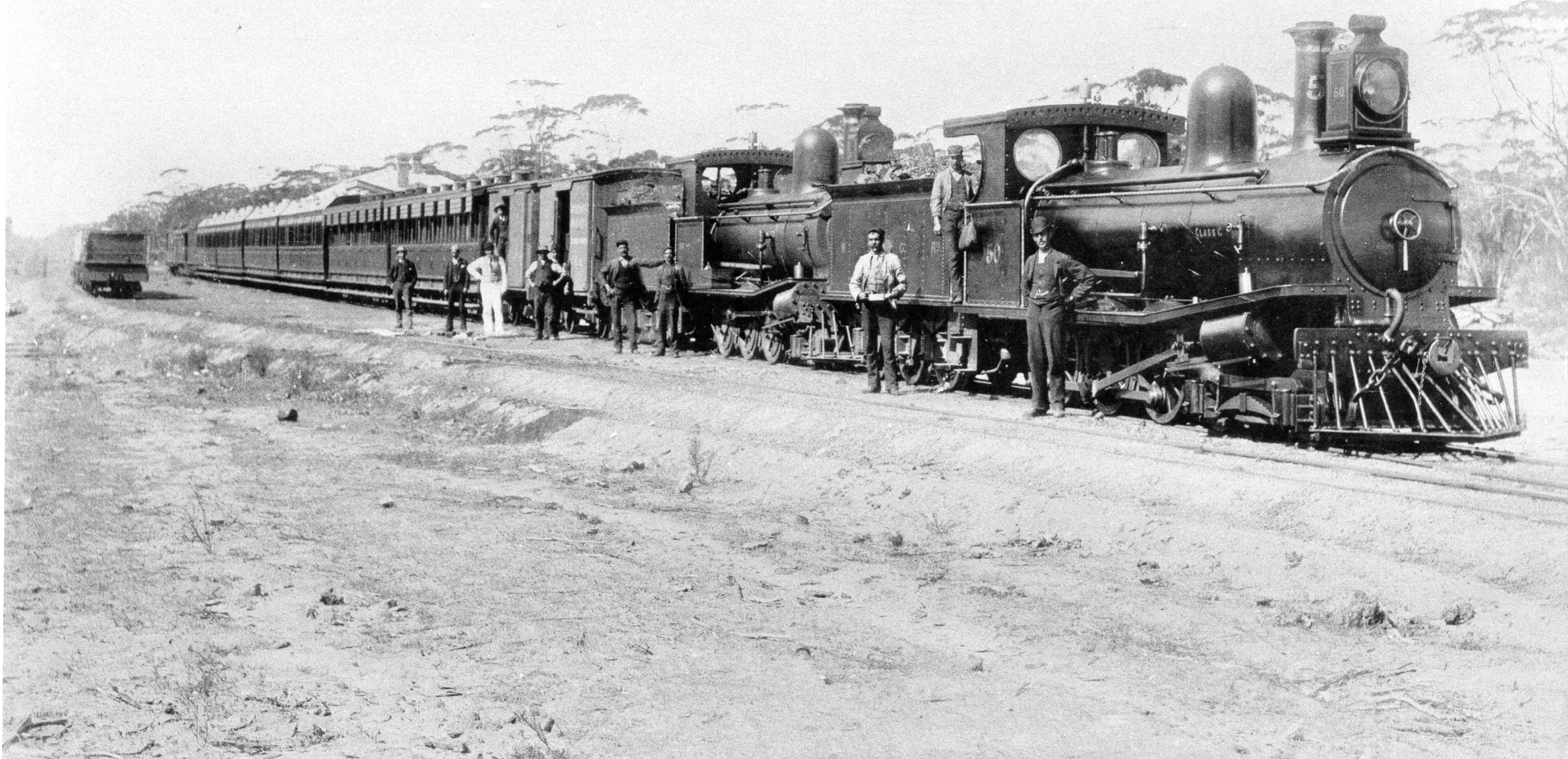The first train to Southern Cross.